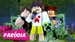 ♫ EU DESISTO - Paródia DESPACITO / Luis Fonsi ft. Justin Bieber (Minecraft Musica) Video