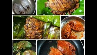 Karimeen Pollichathu (pearlspot Grilled In Banana Leaf)- Chinnuz' I Love My Kerala Food
