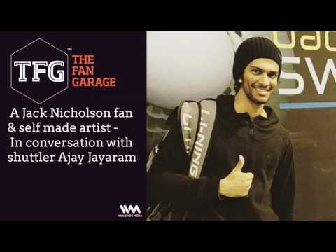 TFG interviews Ep. 015:  A Jack Nicholson fan & self made artist - In conversation with shuttler...
