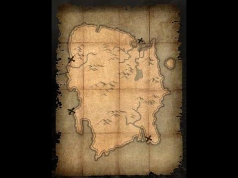 Карта сокровищ Смертельной метки. Курган Джилденхал. Ключ.