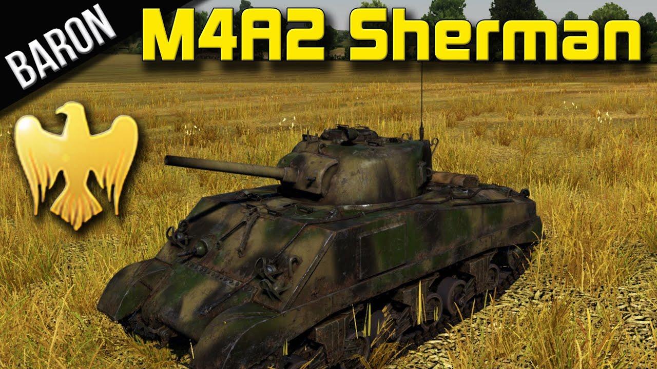 War Thunder Tanks - Premium M4A2 German Sherman - Patch 1