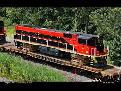 RAILREEL Angola C30ACi GE Erie PA July 25 2017