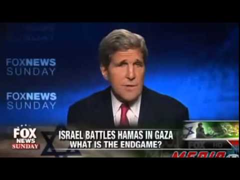 John Kerry Caught on Fox News Hot Mic Criticizing Israeli Strike