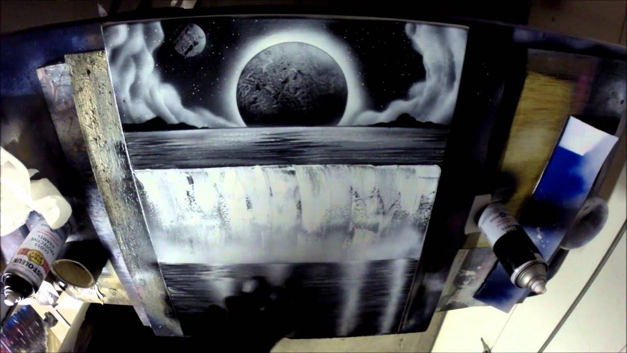 Black And White Spray Paint Art Joe Tinelli