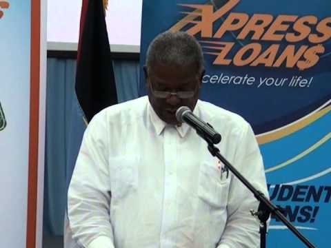 Prime Minister of Antigua and Barbuda Applauds AXCEL FINANCE for Creating a Safety Net for Youth