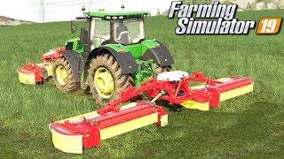 Duża akcja z trawą - Farming Simulator 19 | #62