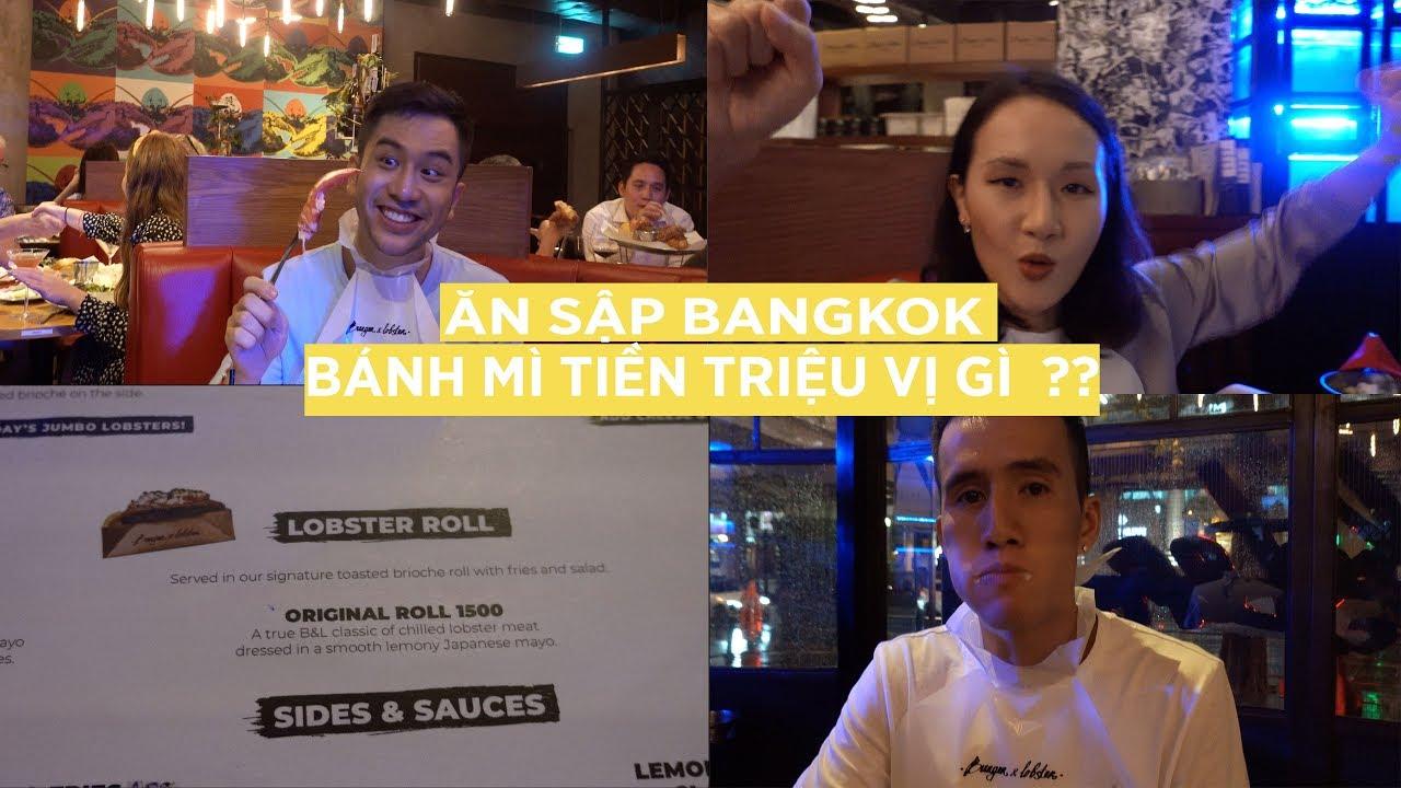 Ổ bánh mì giá hơn 1 triệu có xứng đáng ?//Dino – Giang ơi-Anh Bạn Thân Ăn sập Bangkok  P1// Dinology