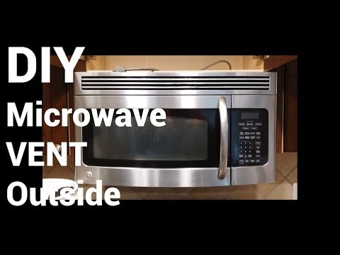 over-range-microwave-vent-to-outside-diy-how-to-install-over-stove-microwave-diy-home-improvement