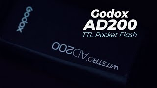 Godox AD200 pocket flash - what you should know!