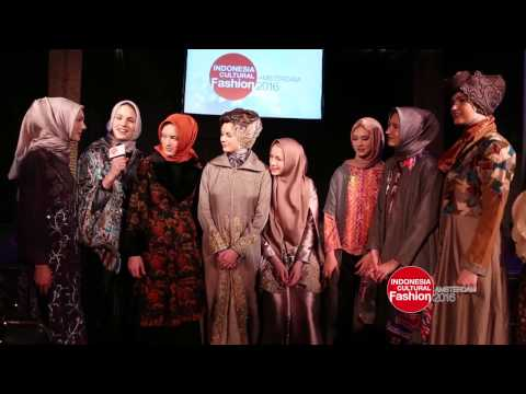 Indonesia Cultural Fashion 2016 - Amsterdam
