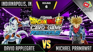 Dragon Ball Super Card Game Gameplay [DBS TCG] Indianapolis Regional Round 6
