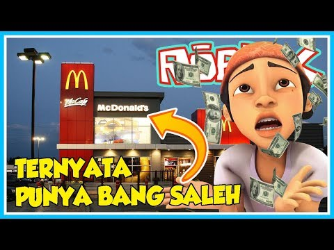 download TERNYATA McDonald's NYA PUNYA BANG SALEH!! - ROBLOX UPIN IPIN