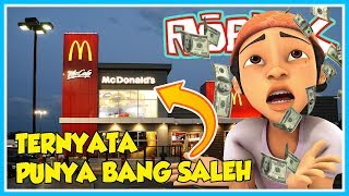 APPARENTLY HIS Mcdonald's GOT BANG SALEH!! -ROBLOX UPIN IPIN