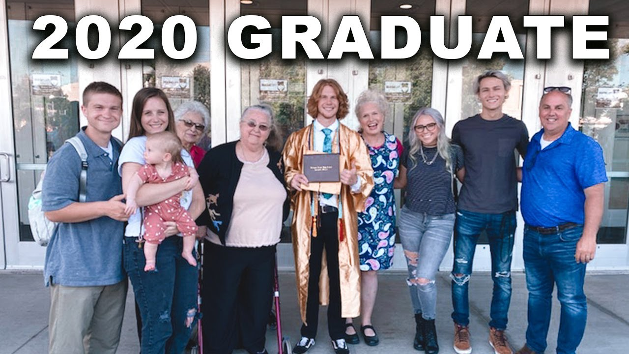 what a graduation looks like in 2020