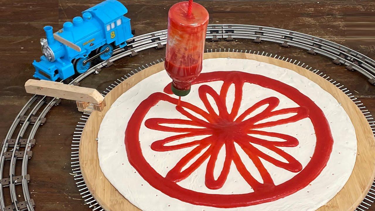 The Pizza-Making Contraption | Joseph's Machines