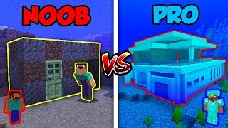 Minecraft NOOB vs. PRO: UNDERWATER BASE in Minecraft! | AVM Shorts Animation