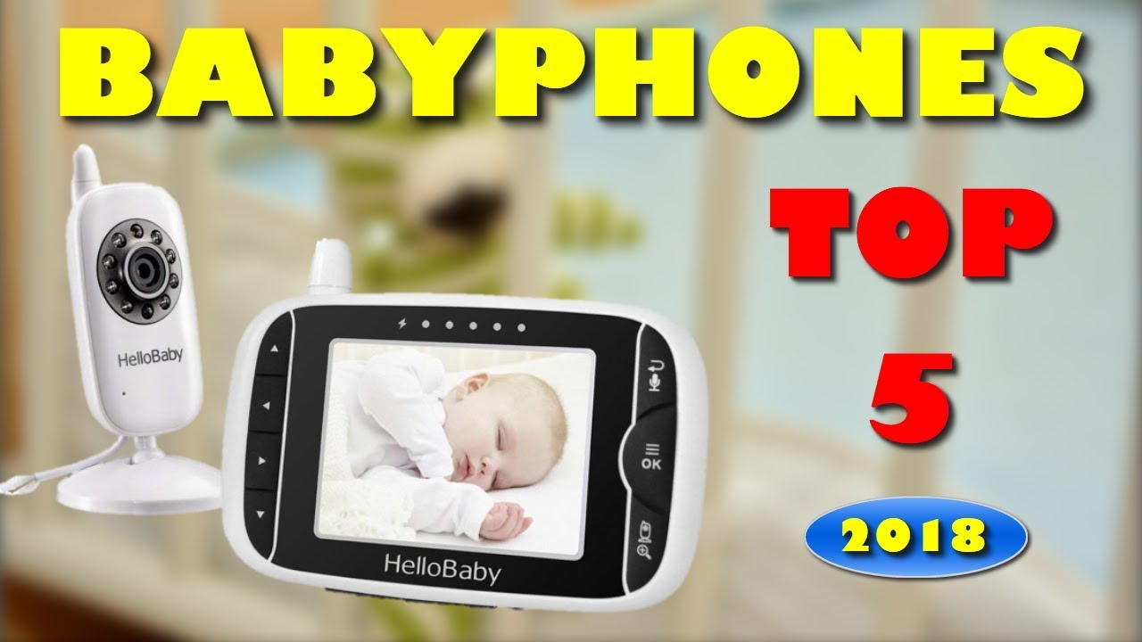 die 5 besten babyphones mit kamera 2018 bestes babyphone. Black Bedroom Furniture Sets. Home Design Ideas