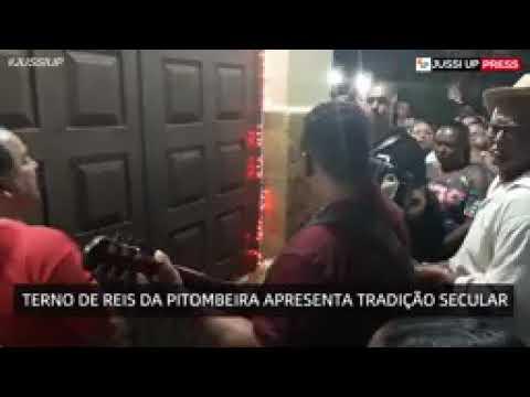 Termo de Reis da comunidade da Pitombeira  se apresentando em Jussiape  Ba