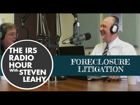 irs-radio-hour-v-blog-10/5---foreclosure-litigation
