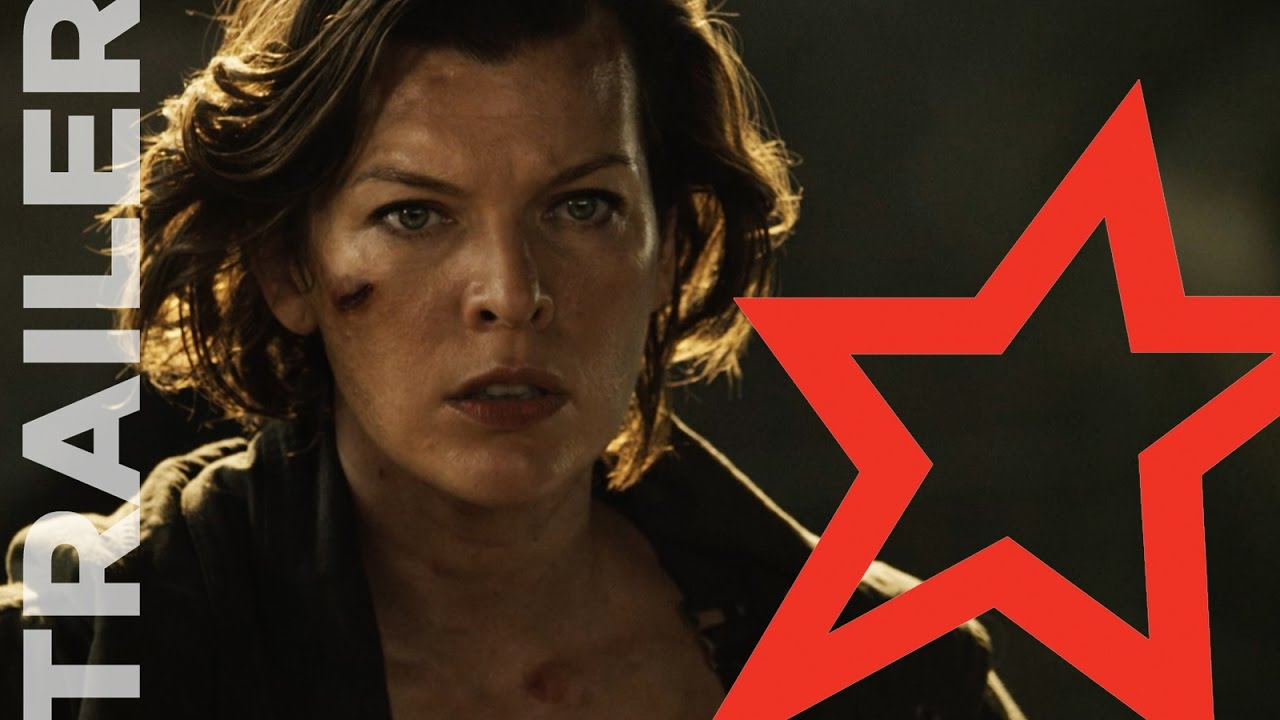 Resident Evil The Final Chapter Ruby Rose: Resident Evil: The Final Chapter Official Trailer- Ruby
