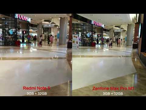 Redmi Note 5 vs Zenfone Max pro M1 Optical image stabilization comparison test (3GB version)