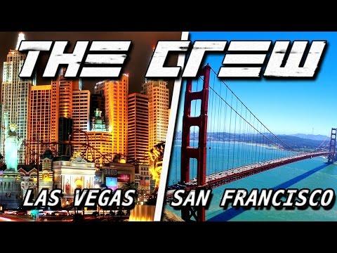 THE CREW (Beta) - LAS VEGAS to SAN FRANCISCO ♦ ROAD TRIP [HD+]
