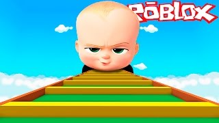 Roblox - ESCAPE DA A JEFE IN TAS!! (BOSS BABY OBBY IN ROBLOX)
