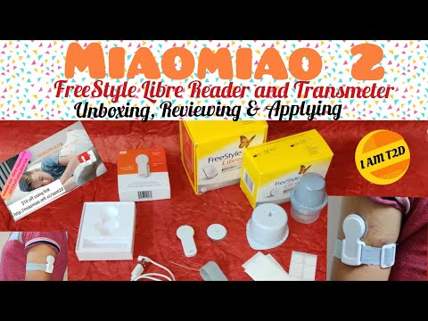 Miaomiao 2 FreeStyle Libre Reader and Transmitter #Unboxing, #Reviewing & #Applying #MM2 #Miaomiao2