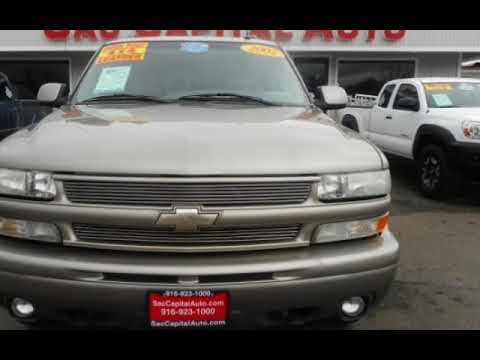 2002 Chevrolet Tahoe Z71 LT w 3rd Row Seats * 4X4 * Leather * Clean !! for sale in SACRAMENTO, CA