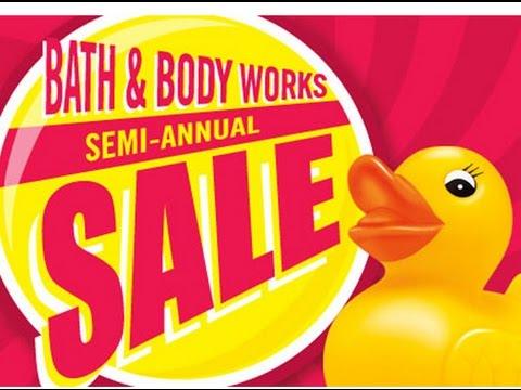 Bath Amp Body Works Semi Annual Sale Haul All 75 Off