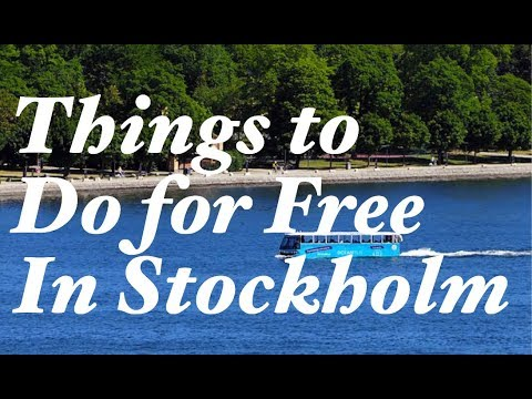 Top 8 Things to Do for Free in Stockholm, Sweden.