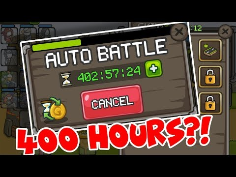 I LEFT AUTO BATTLE ON FOR SO LONG THIS HAPPENED!?!? | GROW CASTLE