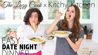'out Of Groceries' Pasta With Kitchy Kitchen  |  The Lazy Cook Ep2