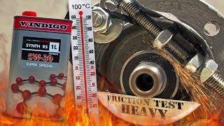 Windigo Synth RS 5W30 Jak skutecznie olej chroni silnik? 100°C