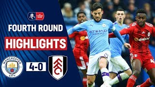 City Punish Fulham as Jesus Bags Double | Manchester City 4-0 Fulham | Emirates FA Cup 19/20
