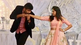 Nani Divya Telugu song couple dance performance