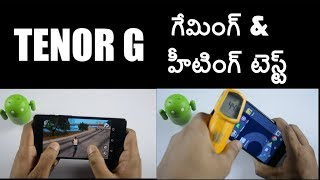 Tenor G (10.or G) Gaming Review & Heating Test ll in telugu ll