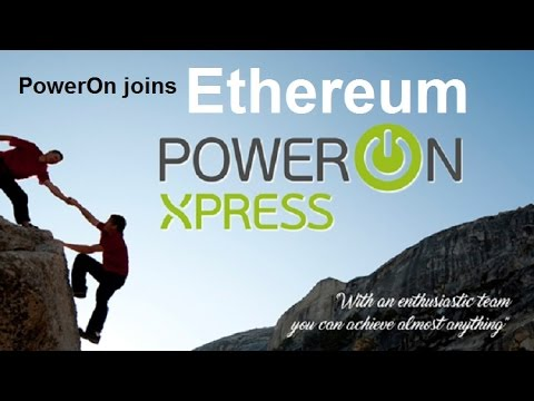 EXCITING NEWS ! Power on Network becomes Xpress and Moves to Ethereum !