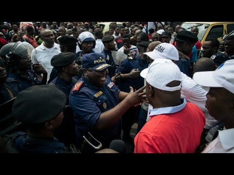 One dead as DR Congo police break up banned marches