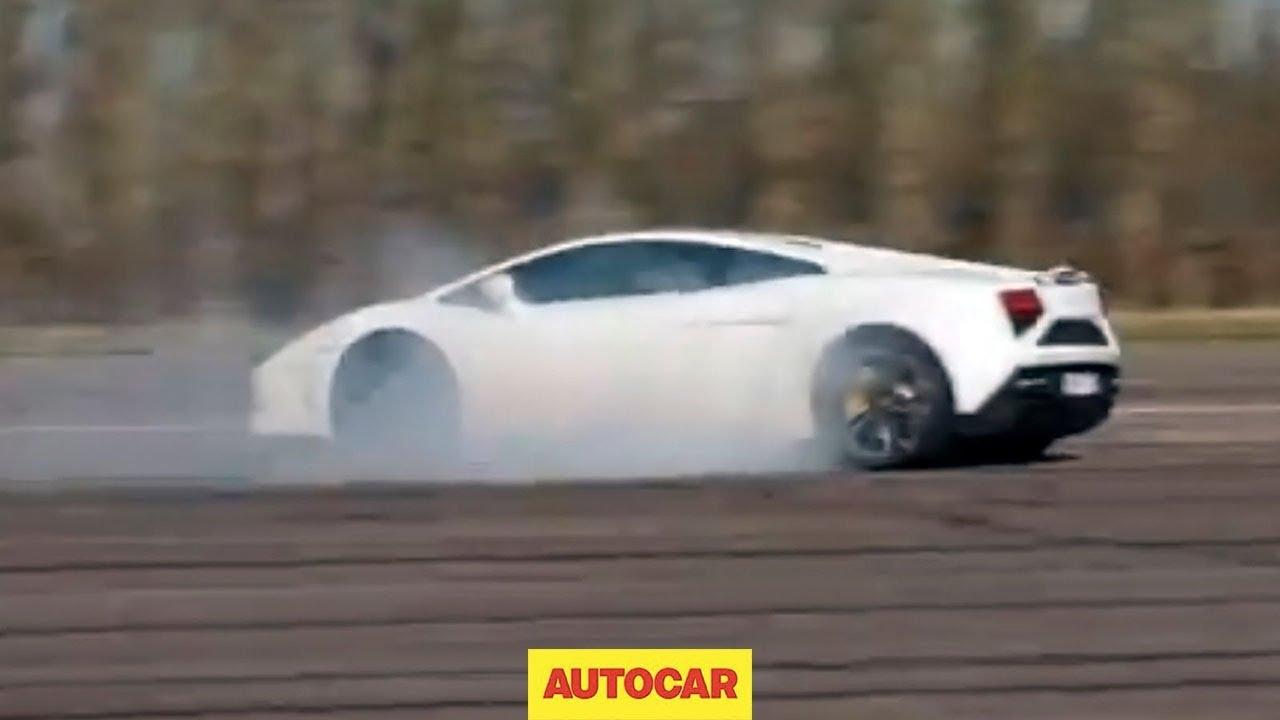 What Hens To A Lamborghini Gallardo When You Switch Traction Control Off