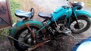 Урал ИМЗ М62 1965года заводим