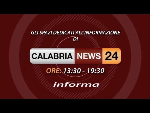 CALABRIA NEWS 24 INFORMA ORE 13:30