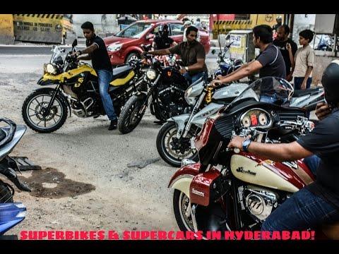 SUPERBIKES & SUPERCARS IN HYDERABAD! (INDIA)