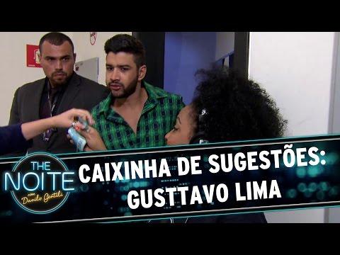 The Noite (12/11/15) - Caixinha De Sugestões: Gusttavo Lima