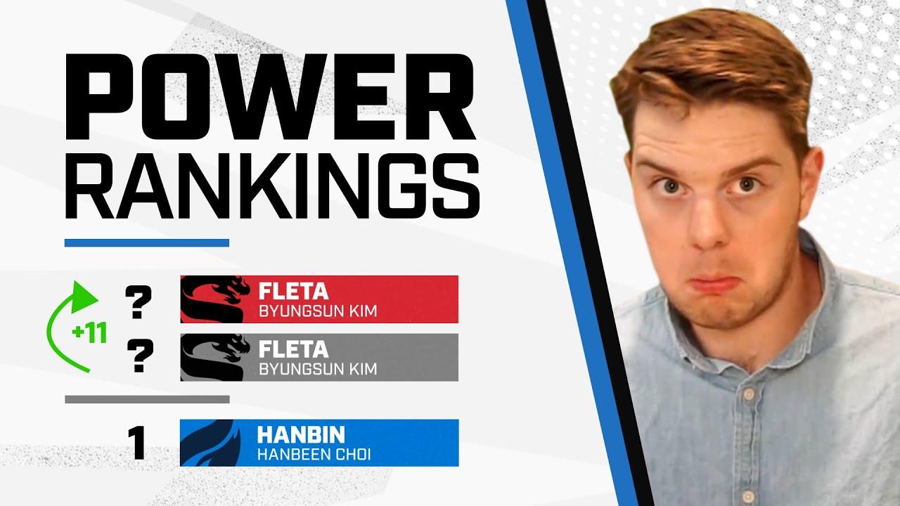 Fleta CLIMBS; Hanbin the BEST Off-Tank in the League?! | Power Rankings | Summer Showdown