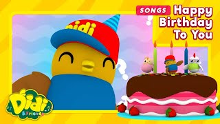 Happy Birthday To You Song   Nursery Rhymes & Song For Kids   Didi & Friends English