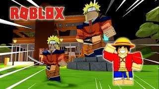 ROBLOX-LUFFY TRANSFORMS INTO NARUTO collecting ANIME CHARACTERS-Anime Tycoon