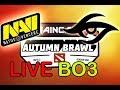 Dota 2 LIVE [EN] NaVi vs Team Secret BO3 | Maincast Autumn Brawl
