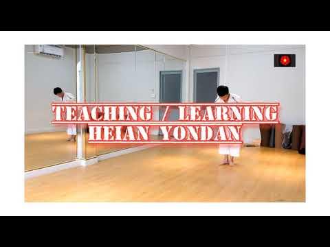 Hướng dẫn bài quyền số 4 karate - Heian Yondan