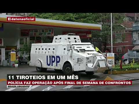 RJ: Tiroteio aterroriza moradores do morro Dona Marta